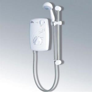 ELECTRIC SHOWER LXI9 5KW - CHROME/WHITE